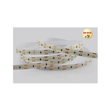 Bandeau de Led SMD2216 24V Blanc froid 280 Led/métres 19,2 Watt/métres Longueur:5m
