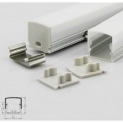 Profil aluminium A2114 IP20 16mm
