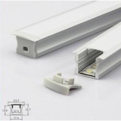 Profil aluminium A2515 IP20 10mm