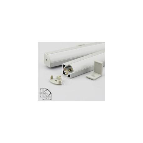 Profil aluminium C1919 IP20 10mm