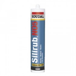 Mastic silicone silirub no5 SOUDAL