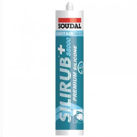 Silicone translucide - 310 ml - Silirub+ S8000 - Soudal